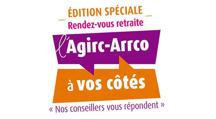 Logo de l'évènement des rendez-vous de la retraite - édition spéciale